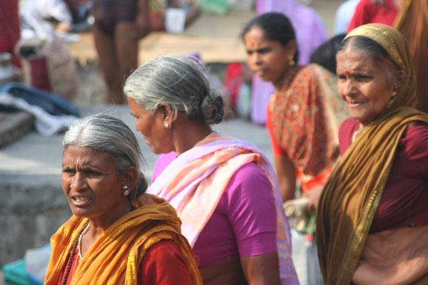 Hindu pilgrims - Varanasi - Uttar Pradesh