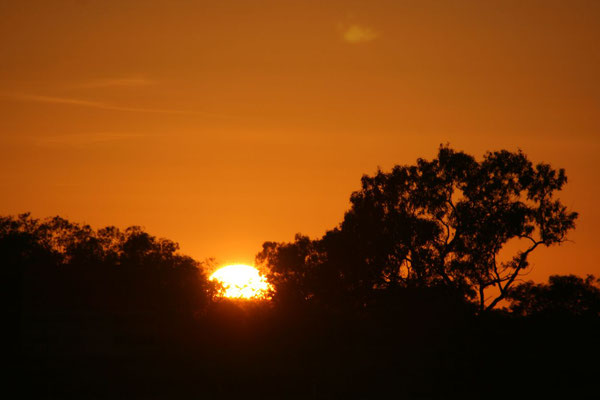 Outback sunset - Queensland