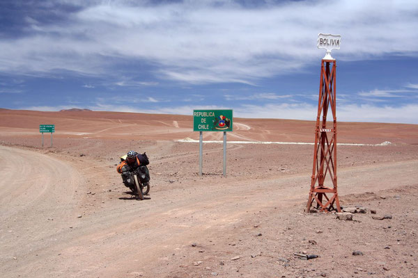 Leaving Bolivia - Altiplano at 4,300 m
