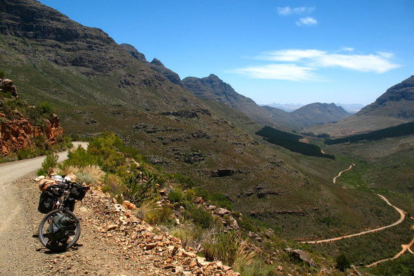 Uitkyk Pass 1,013 m - Cederberg Mountains
