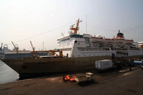 Ferry to Sumatra - Jakarta - Western Java