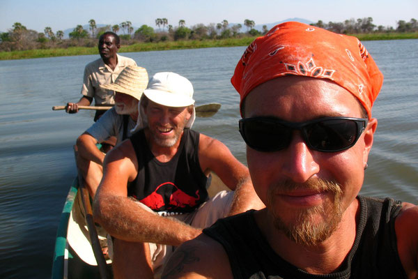 Canoe safari on Shire River - Liwonde National Park