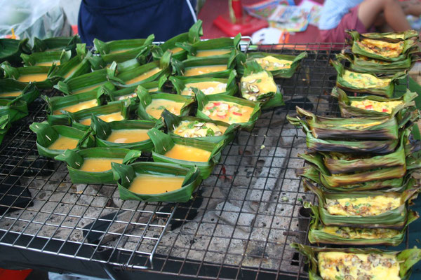 Snacks at Night Bazaar - Chiang Mai