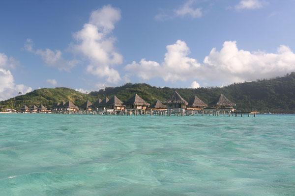 Overwater bungalows - Bora Bora