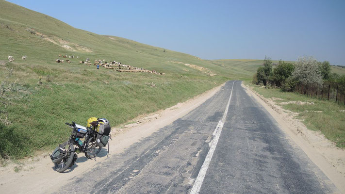 Cycling southeastern Romania