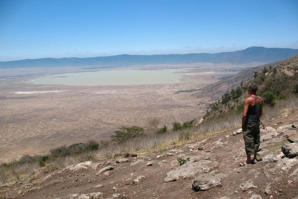 Me at Ngorongoro Crater - Ngorongoro Conservation Area