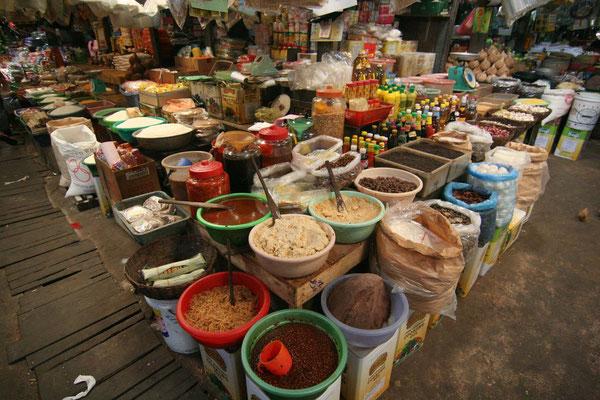 Psar Leu Market - Sihanoukville