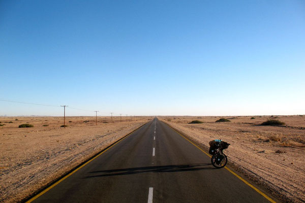 Trans Kalahari Highway - East of Swakopmund