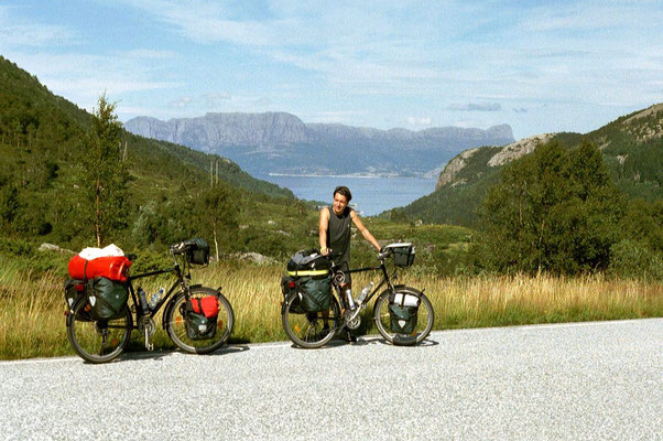 Cycling Sognefjorden - Western Norway