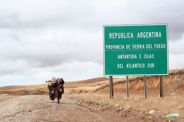 Entering Argentina - The Land of Fire