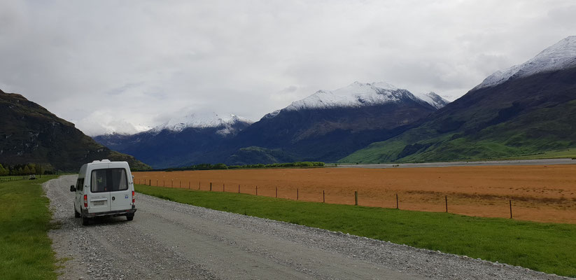 Mount Aspiring Road - South Island