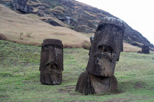 Moai - Most isolated inhabited place on earth - Rapa Nui (Easter Island)