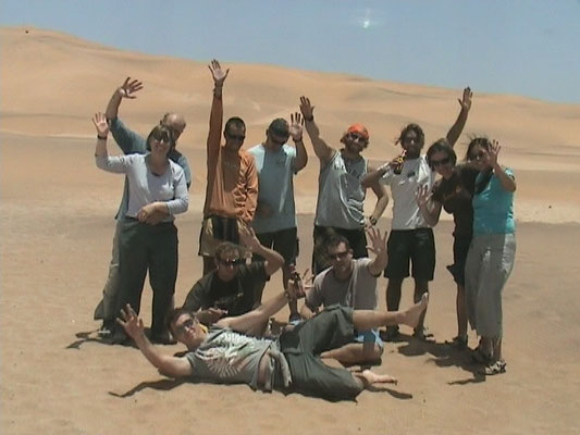 All of us - Sandboarding - Swakopmund