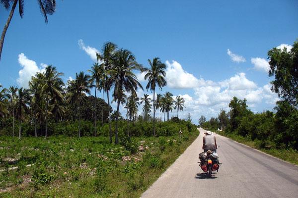 Cycling Zanzibar Island