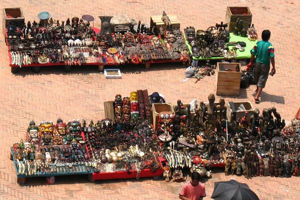 Tibetan Market at Basantapur Square - Kathmandu