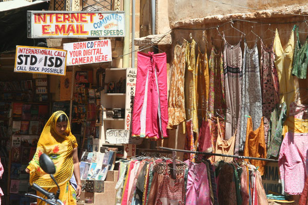 Stores at Jaisalmer Fort - Rajasthan