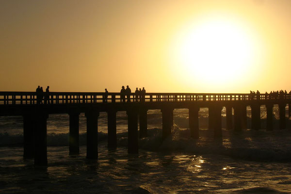 Sunset at the Jetty - Swakopmund