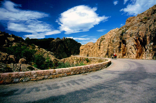 Cycling Calanche de Piana - Western Corsica