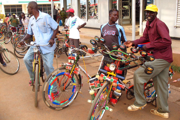 Bicycle taxis - Bungoma