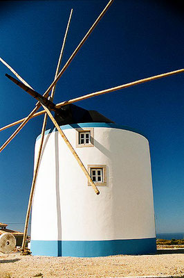 Portuguese windmill - Cabo Espichel - South of Lisbon