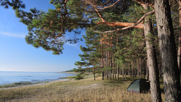 Baltic Sea camp spot - Gulf of Riga - Latvia