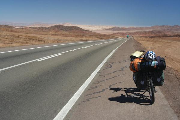Cycling Atacama Desert