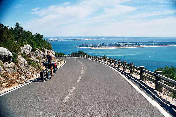 Cycling Serra da Arrábida - South of Lisbon