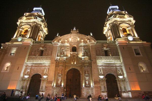 Cathedral - Plaza de Armas - Lima - Peru