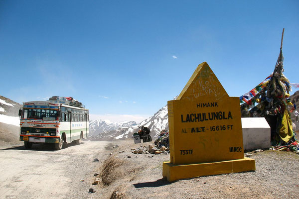 Lachalung La - 5,065 m - Ladakh and Zanskar - Jammu and Kashmir