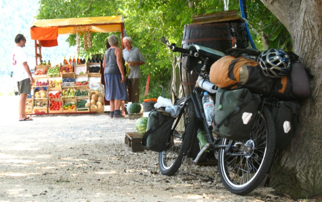 Fruit vendor - Dalmatia - Croatia
