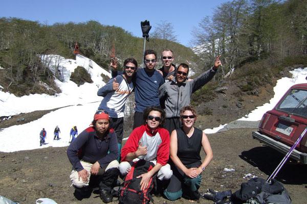 Made it - Volcano Villarica - Pucon