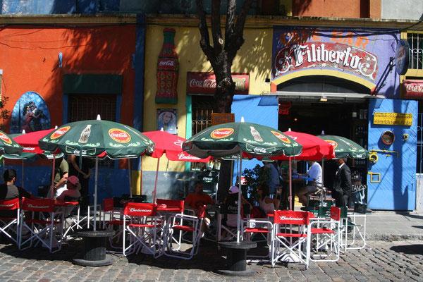 Street cafe in La Boca - Buenos Aires