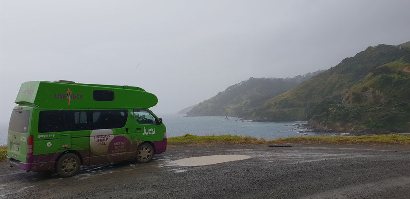 Road to Fletcher Bay - Coromandel Peninsula - North Island