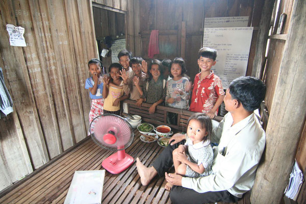 Teacher Chek Oum´s house - Pursat - Western Cambodia