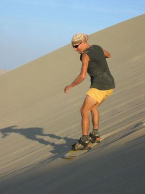 Sandboarding - Huacachina - Ica Province