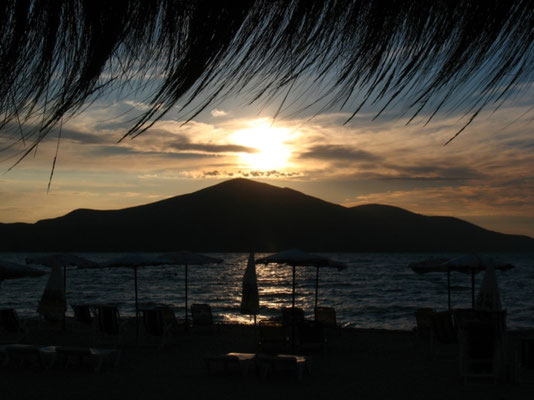 Sunset at Bay of Vlora - Albania