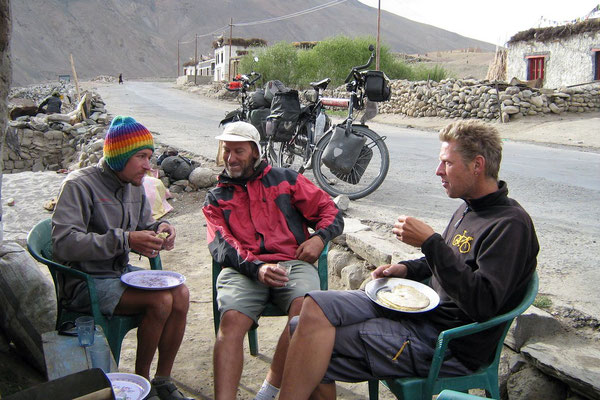 Me, Hugo and Peter - Rumtse - Ladakh