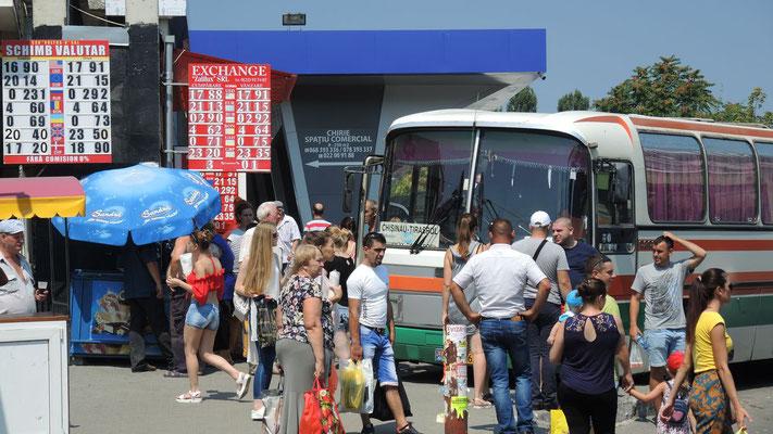 Bus to Transnistria - Chisinau - Moldova