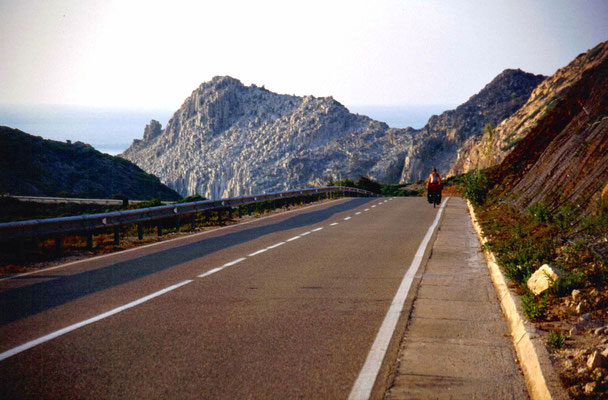 Cycling San Pietro Island - Southwestern Sardinia