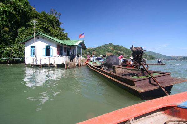 Entering Myanmar - Kawthoung - Southern Myanmar