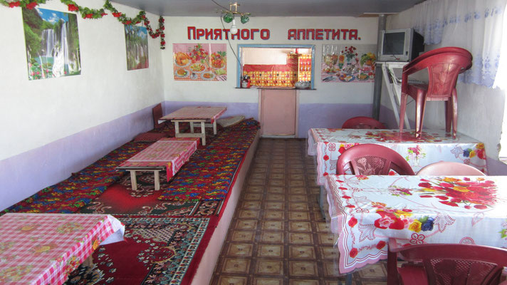 Local restaurant - Alichur - Tajikistan