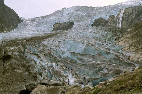 Folgefonn Glacier - Buardalen - Hordaland Province - Southwestern Norway