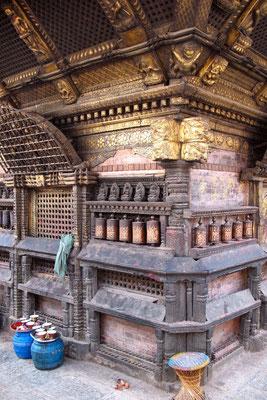 Hariti Temple at Swayambhunath Stupa - West of Kathmandu