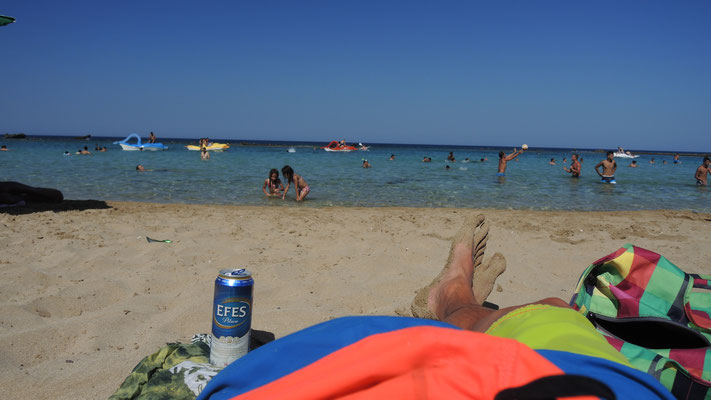 Famagusta Beach - Turkish Republic of Northern Cyprus