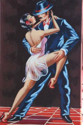 Tango art - La Boca - Buenos Aires