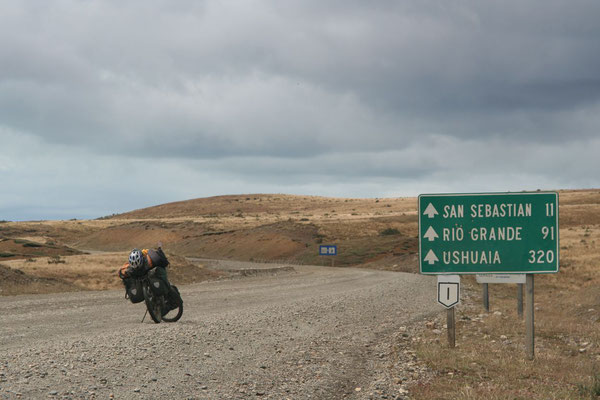 Cycling Tierra del Fuego - The Land of Fire - Southern Argentina