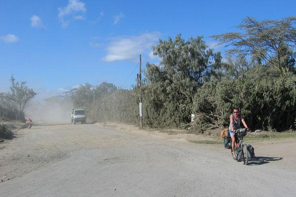 Cycling Southwestern Kenya