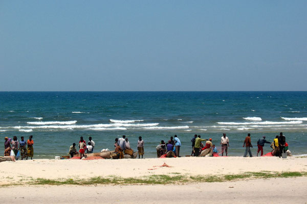 Fishermen at Chintheche Strip - Lake Malawi