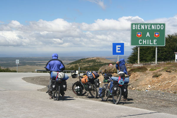 Entering Chile - Magallanes Province