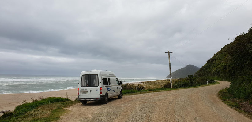 Road to Kohaihai Bluff - West Coast - South Island